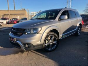 2017 Dodge Journey Crossroad | AWD | Leather| 7 Passenger
