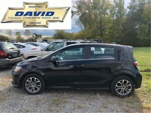 2018 Chevrolet Sonic 1LT TRUE NORTH/ REMOTE START/ SUNROOF/ REAR