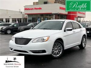 2014 Chrysler 200 Limited-leather-sunroof-very clean