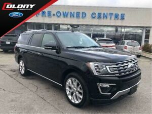 2018 Ford Expedition Max Limited | Ext Warranty | CPO 2.9% 24 Mo
