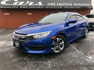 2017 Honda Civic LX | REAR VIEW CAMERA | 18, 819 KM | HEATED SEA