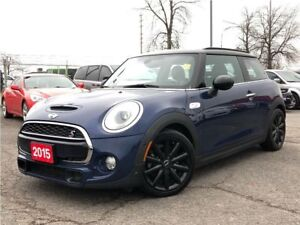 2015 Mini 3 Door COOPER**S**LEATHER**NAV**SUNROOF**BACK UP CAMER