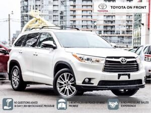 2016 Toyota Highlander XLE Toyota Certified SOLD!