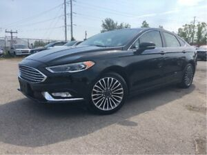 2017 Ford Fusion SE  Panoroof  Leather   AWD  Navigation