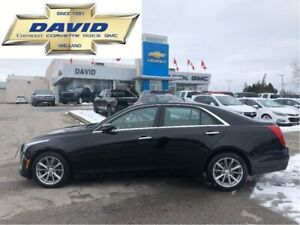 2017 Cadillac CTS Luxury AWD/ LEATHER/ SUNROOF/ REAR CAM/ NAV.