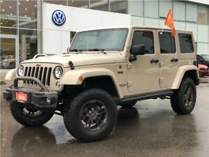 2016 Jeep Wrangler Unlimited Sahara Trade IN/LOW KMS/NO Accident