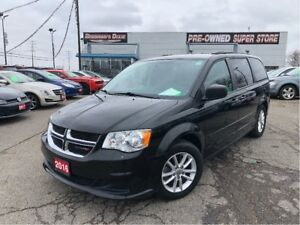 2016 Dodge Grand Caravan SXT Stow N Go, Bluetooth, Roof Rack