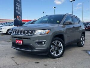2019 Jeep Compass LIMITED**4X4**LEATHER**8.4 TOUCHSCREEN**