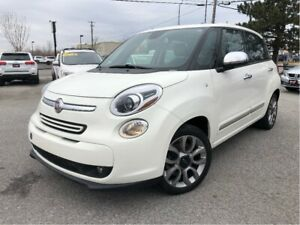 2015 Fiat 500L Lounge Navigation Leather Skyview