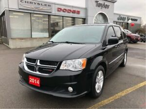 2014 Dodge Grand Caravan Crew w/Power Seat, Rear A/C, Full Stow-
