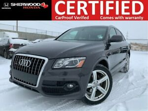 2012 Audi Q5 3.2 AWD | POWER LIFTGATE | HEATED LEATHER