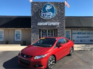 2013 Honda Civic Coupe WOW SI 6 SPEED! FINANCING AVAILABLE!