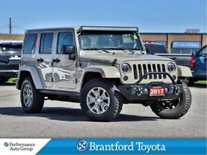 2017 Jeep Wrangler Unlimited Rubicon, ONLY 65921 Km's, Leather