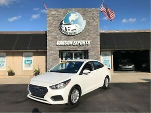 2018 Hyundai Accent GL LOW KM CHEAP YEAR END CLEAROUT!