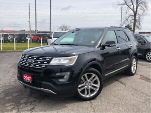 2017 Ford Explorer LIMITED**LEATHER**SUNROOF**BLUETOOTH**NAV**