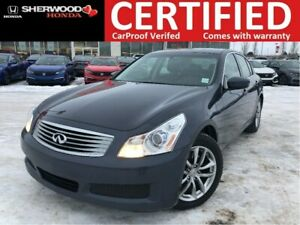 2009 Infiniti G37x Sport AWD|HEATED LEATHER|HOMELINK|BLUETOOTH
