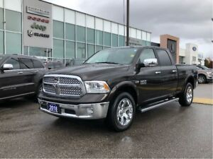 2017 Ram 1500 Laramie LOADED! Remote Starter, Power Seats, Backu
