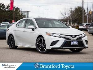2018 Toyota Camry XSE, Pano Roof, Htd Seats, Camera, Demo Unit