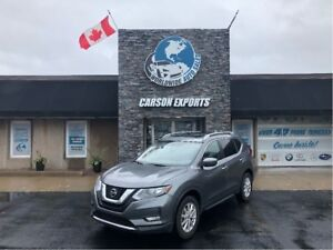 2018 Nissan Rogue SV WITH LOW KMS AND AWD!