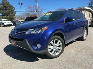 2014 Toyota RAV4 Limited AWD LEATHER MOONROOF