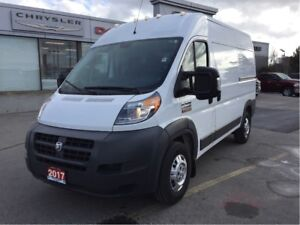 2017 Ram ProMaster 2500 136 WB High Roof