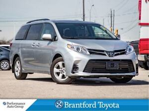 2019 Toyota Sienna LE, Only 10423 Km's 8 Passanger, Power Doors