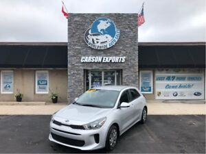 2018 Kia Rio LX+ WITH LOW KMS