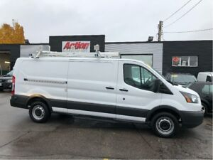 2016 Ford Transit Low roof 148. loaded. shelving and ladder rack