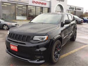 2017 Jeep Grand Cherokee SRT w/Tow Pack, Sunroof, Navi, Black Wh