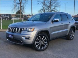 2018 Jeep Grand Cherokee LIMTED**LEATHER**SUNROOF**NAV**BACK UP
