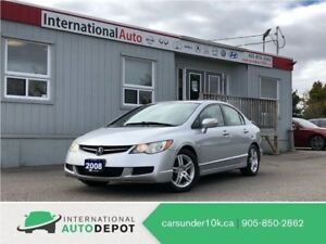 2008 Acura CSX | LEATHER | MOONROOF | HTD SEATS