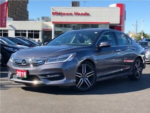 2016 Honda Accord Sedan Touring-one owner-well maintained
