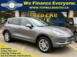 2014 Porsche Cayenne Platinum Edition, Accident Free, Fully Load