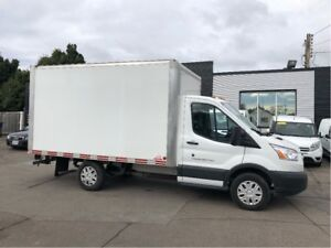 2017 Ford Transit 12ft cube van. lease or finance from 5.99%oac