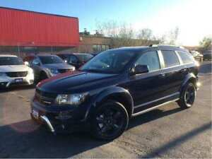 2018 Dodge Journey Crossroad Leather Awd Dvd 7