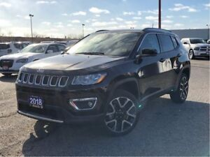 2018 Jeep Compass LIMITED**LEATHER**NAV**BACK UP CAMERA**