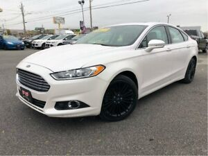 2014 Ford Fusion SE  Navigation | Sunroof | Leather