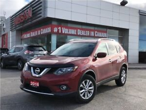 2016 Nissan Rogue SV AWD 1 OWNER CLEAN CARPROOF BLUETOOTH BACKUP