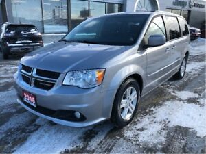 2016 Dodge Grand Caravan Crew w/Power Seat, Rear A/C, Full Stow-