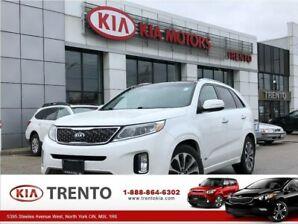 2014 Kia Sorento SX|Navigation|7-Seat|PnoRoof|One Owner|19alloys|