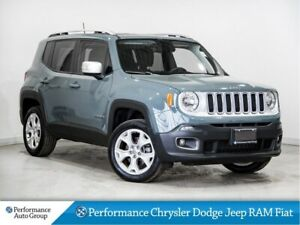 2018 Jeep Renegade Limited * Removable Roof * Nav * Leather