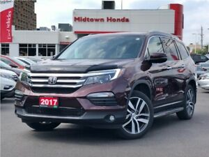 2017 Honda Pilot Touring-Off lease-One owner-No Accidents