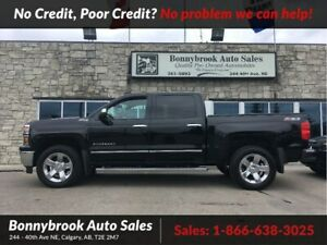 2014 Chevrolet Silverado 1500 LTZ  Z71 leather navigation p/sunr