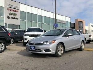 2012 Honda Civic EX, Roof, Power everything, Ready To Go!
