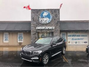 2018 BMW X3 LOW KM xDrive30i!