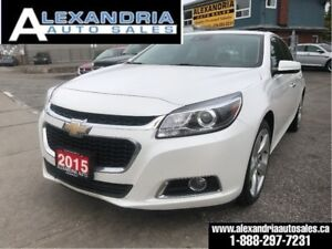 2015 Chevrolet Malibu 2LTZ/1owner/leather/navi/sunroof/safety in