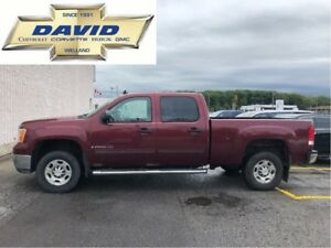 2009 GMC SIERRA 2500HD SLE CREW 2WD/ REMOTE START/