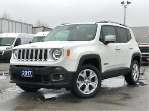 2017 Jeep Renegade LIMITED**4X4**LEATHER**NAV**BACK UP CAM**SUNR