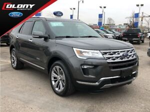 2018 Ford Explorer Limited | 2.99% @ 48 Months | BEST OF BOTH WO