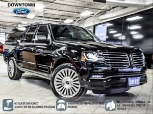 2017 Lincoln Navigator Low KM, non smoker, One Owner Trade-in, C